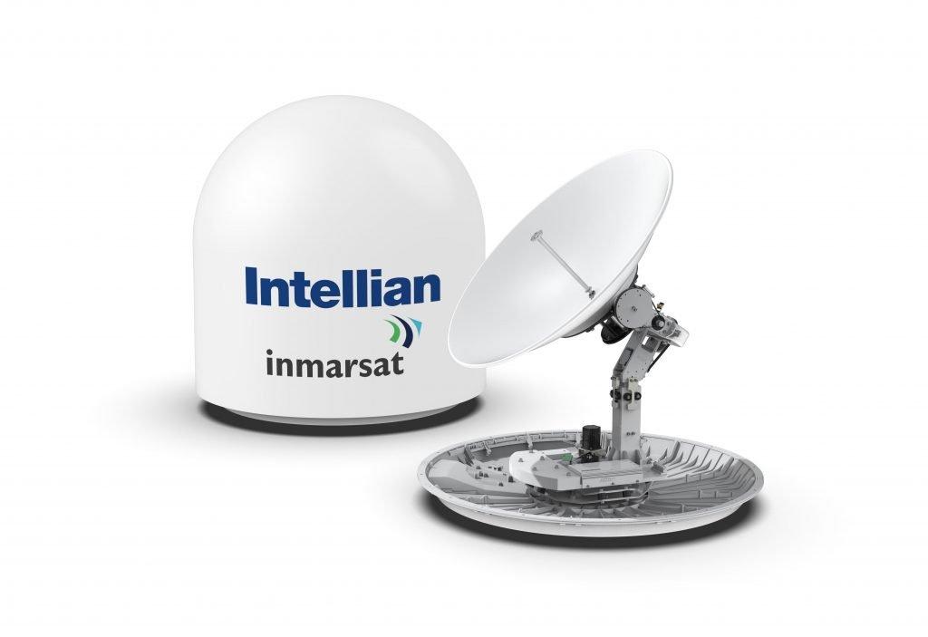 Intellian adds new 1m antenna for Fleet Xpress - Smart Maritime Network